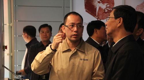 延吉市党政代表团一行到我司考察